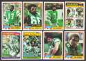 1981 Topps Football Team Set - PHILADELPHIA EAGLES
