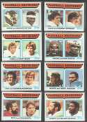 1982 Topps Football Brothers (8 card Subset)