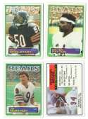 1983 Topps Football Team Set - CHICAGO BEARS