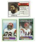 1983 Topps Football Team Set - CINCINNATI BENGALS