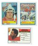 1983 Topps Football Team Set - DENVER BRONCOS