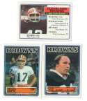 1983 Topps Football Team Set - CLEVELAND BROWNS