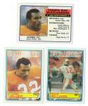 1983 Topps Football Team Set - TAMPA BAY BUCCANEERS