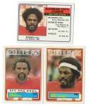 1983 Topps Football Team Set - KANSAS CITY CHIEFS