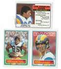 1983 Topps Football Team Set - LOS ANGELES RAMS