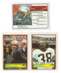 1983 Topps Football Team Set - NEW ORLEANS SAINTS