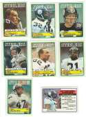 1983 Topps Football Team Set - PITTSBURGH STEELERS