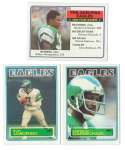1983 Topps Football Team Set - PHILADELPHIA EAGLES