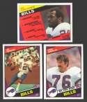 1984 Topps Football Team Set - BUFFALO BILLS