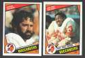 1984 Topps Football Team Set - TAMPA BAY BUCCANEERS