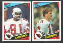 1984 Topps Football Team Set - ST LOUIS CARDINALS