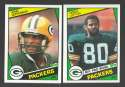 1984 Topps Football Team Set - GREEN BAY PACKERS