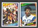 1984 Topps Football Team Set - LOS ANGELES RAMS w/ ERIC DICKERSON RC