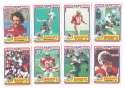 1984 Topps USFL Football Team Set - Tampa Bay Bandits