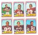 1984 Topps USFL Football Team Set - Jacksonville Bulls
