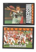 1985 Topps Football Team Set - CINCINNATI BENGALS