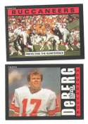 1985 Topps Football Team Set - TAMPA BAY BUCCANEERS