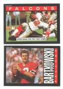 1985 Topps Football Team Set - ATLANTA FALCONS