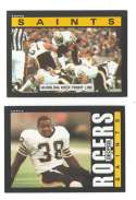 1985 Topps Football Team Set - NEW ORLEANS SAINTS