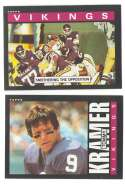 1985 Topps Football Team Set - MINNESOTA VIKINGS