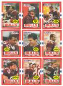 1985 Topps USFL Football Team Set - Jacksonville Bulls