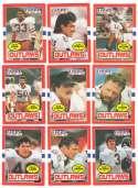 1985 Topps USFL Football Team Set - Arizona Outlaws
