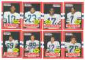 1985 Topps USFL Football Team Set - Orlando Renegades