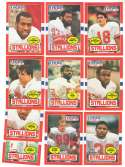 1985 Topps USFL Football Team Set - Birmingham Stallions
