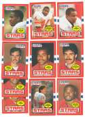 1985 Topps USFL Football Team Set - Philadelphia Stars