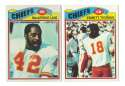 1977 Topps Football Team Set (EX Cond) - KANSAS CITY CHIEFS  Read