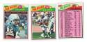 1977 Topps Football Team Set (EX Cond) - MIAMI DOLPHINS