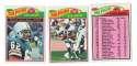 1977 Topps Football Team Set (EX Cond) - MIAMI DOLPHINS