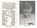 1921 Oxford Confectionery (E253) Reprints - DETROIT TIGERS Team Set