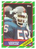 1986 Topps Football Team Set - NEW YORK GIANTS