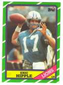 1986 Topps Football Team Set - DETROIT LIONS
