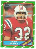 1986 Topps Football Team Set - NEW ENGLAND PATRIOTS