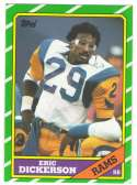 1986 Topps Football Team Set - LOS ANGELES RAMS