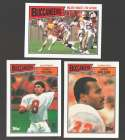 1987 Topps Football Team Set - TAMPA BAY BUCCANEERS w/ Steve Young