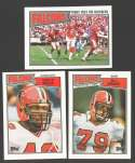 1987 Topps Football Team Set - ATLANTA FALCONS