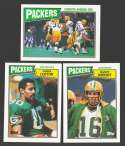 1987 Topps Football Team Set - GREEN BAY PACKERS