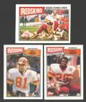 1987 Topps Football Team Set - WASHINGTON REDSKINS