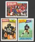 1987 Topps Football Team Set - PITTSBURGH STEELERS