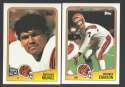 1988 Topps Football Team Set - CINCINNATI BENGALS