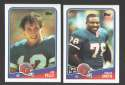 1988 Topps Football Team Set - BUFFALO BILLS