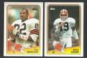 1988 Topps Football Team Set - CLEVELAND BROWNS