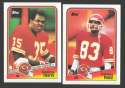 1988 Topps Football Team Set - KANSAS CITY CHIEFS