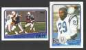 1988 Topps Football Team Set - INDIANAPOLIS COLTS