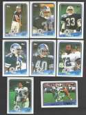 1988 Topps Football Team Set - DALLAS COWBOYS
