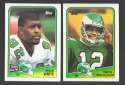 1988 Topps Football Team Set - PHILADELPHIA EAGLES