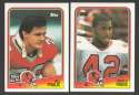 1988 Topps Football Team Set - ATLANTA FALCONS